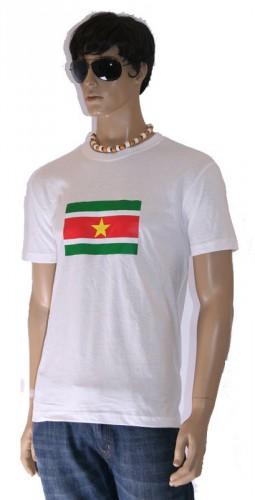 T shirts van vlag Suriname