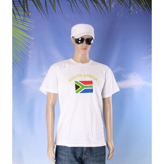 T shirts van vlag Zuid Afrika