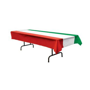 Tafelkleed met Italiaanse vlag