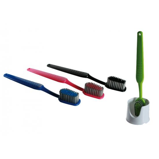 Tandenborstel voor het toilet