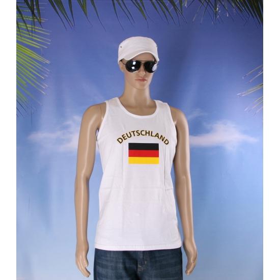 Tanktop met de Duitse vlag print