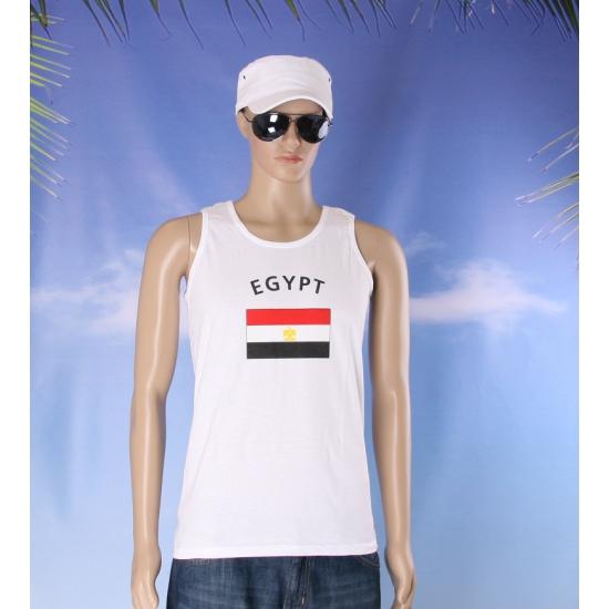 Tanktop met Egyptische vlaggen print