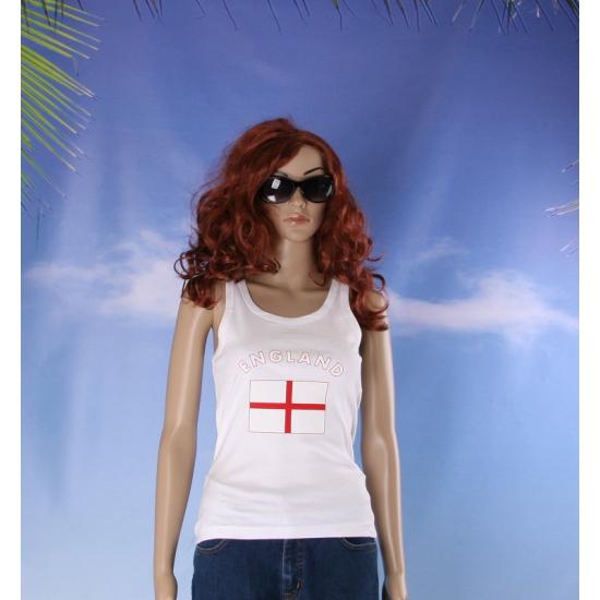 Tanktop met Engelse vlag print voor dames