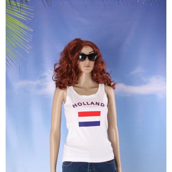 Tanktop met Hollandse vlag print voor dames