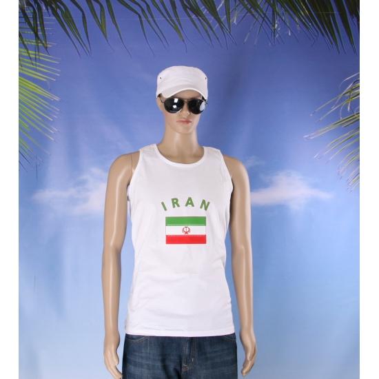 Tanktop met Iran vlag print