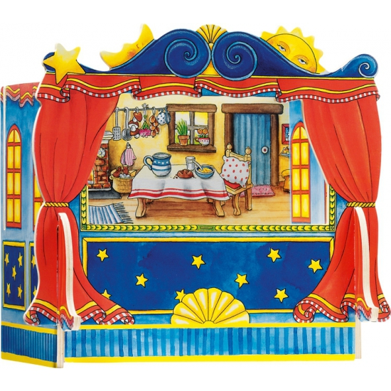 Theater voor vingerpoppetjes