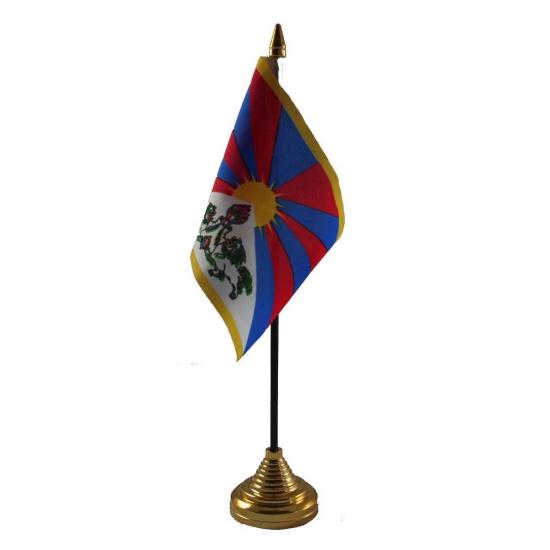Tibet vlaggetje voor op tafel