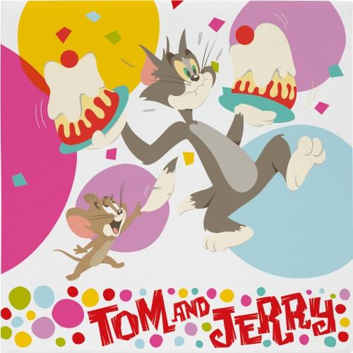 Tom and Jerry servetten