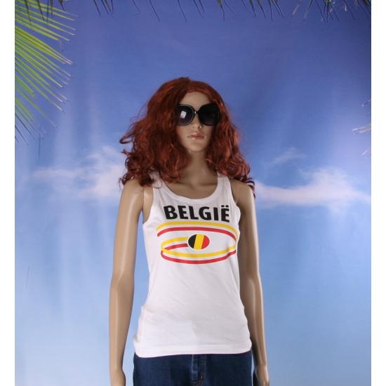 Top met Belgie opdruk voor dames