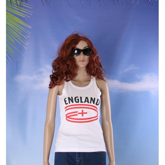 Top met Engeland opdruk voor dames