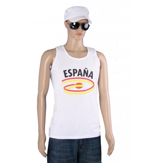 Top met Spanje opdruk voor heren