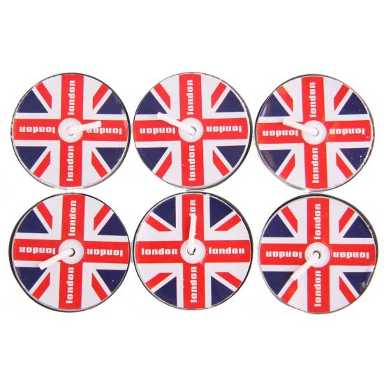 UK waxinelichtjes 6 stuks