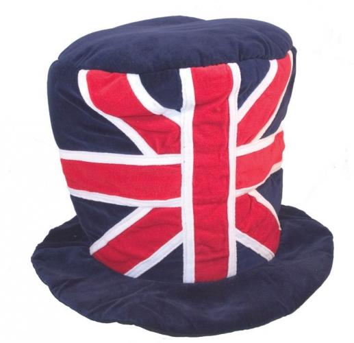Union Jack mega hoed