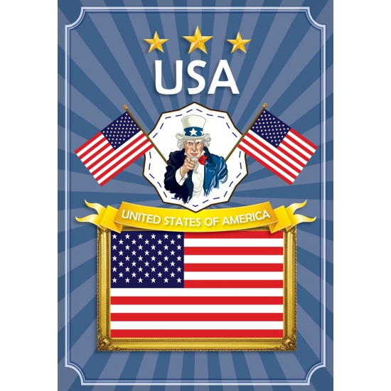 USA thema deur posters