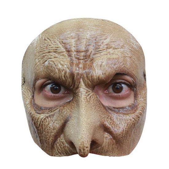 Vampier masker half gezicht