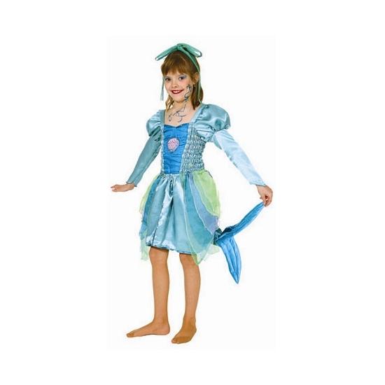 Verkleed kostuum zeemeermin voor meisjes