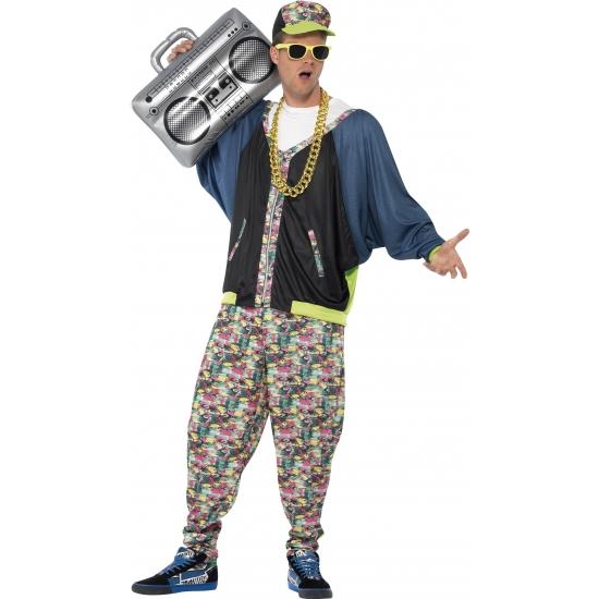 Verkleedkostuum hip hop voor heren
