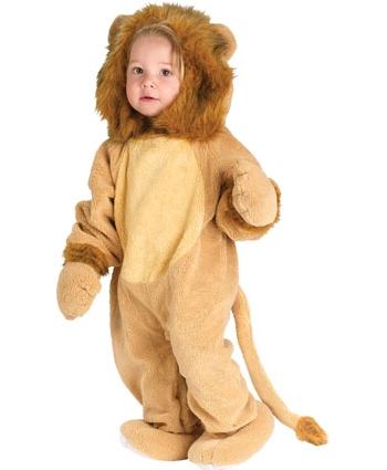 Verkleedpakje leeuw voor peuters