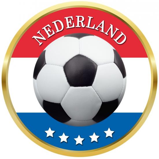 Viltjes met Nederlands voetbal opdruk