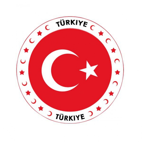 Viltjes met Turkije vlag opdruk