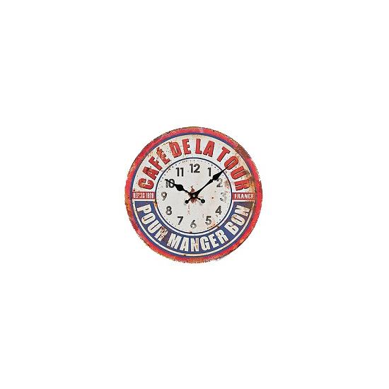 Vintage klok France 28 cm