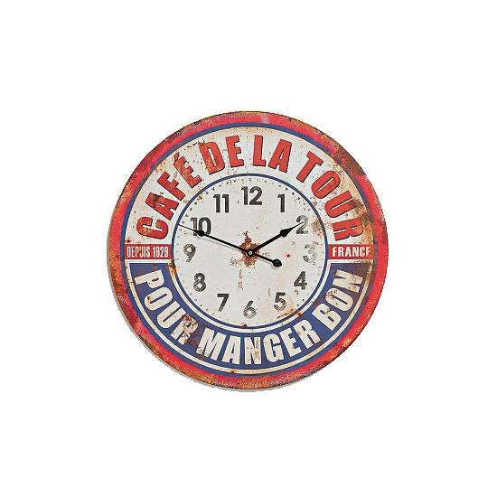 Vintage klok France 58 cm