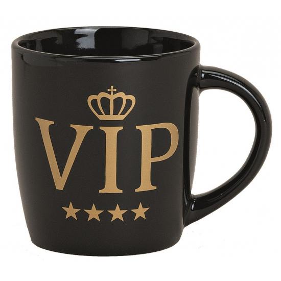 VIP mok zwart 9 cm