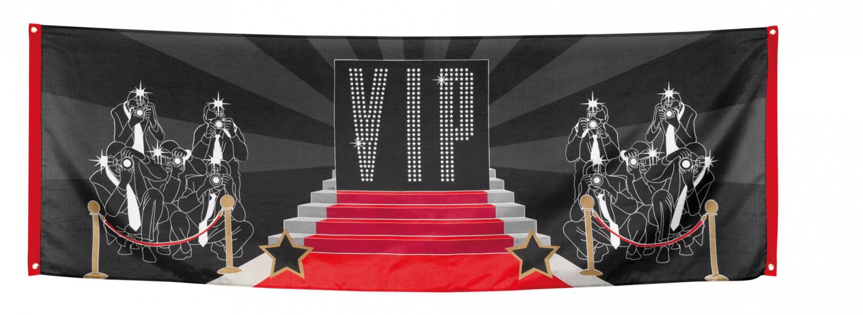 VIP paparazzi vlag 220 cm