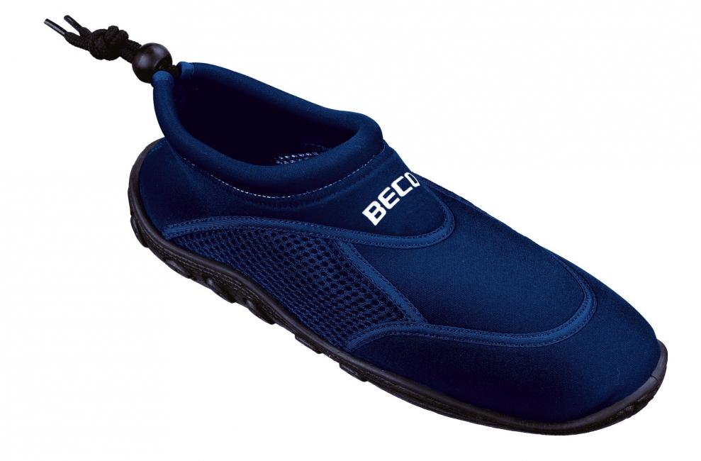 Waterschoenen voor heren donkerblauw