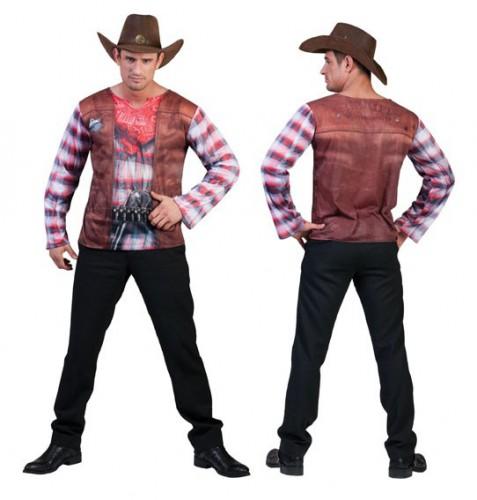 Western t shirt voor heren