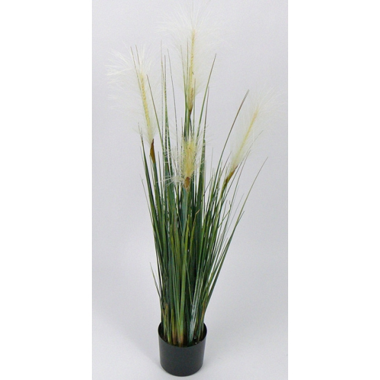 Wild bloeiende gras kunstplant 106 cm