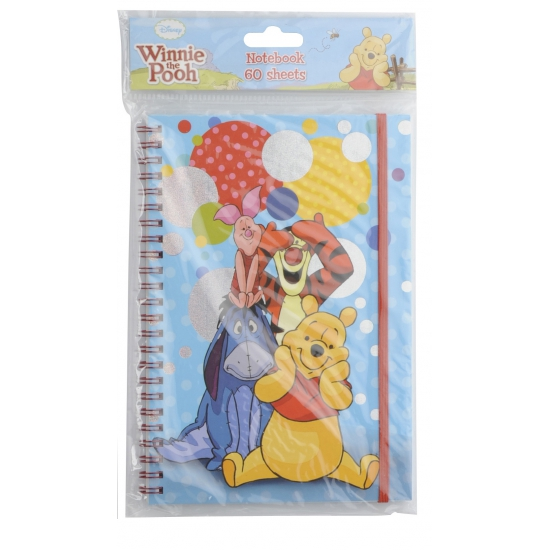 Winnie de Poeh en vriendjes notitieboekje