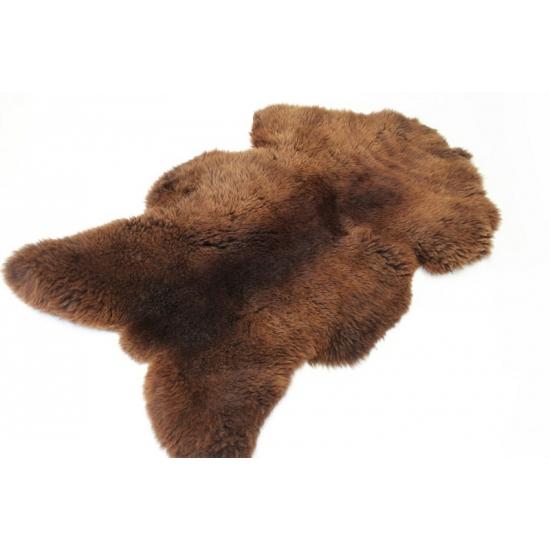 Winter schapenvacht bruin
