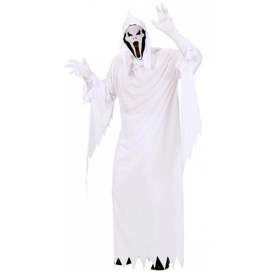 Wit spoken kostuum voor volwassenen