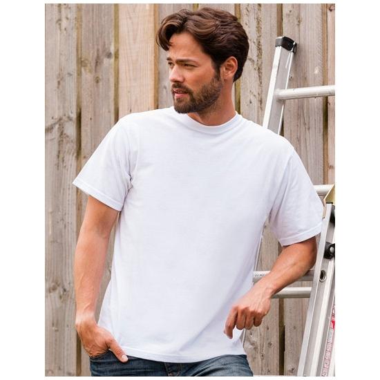 Witte grote maten heren t shirts maat 4XL