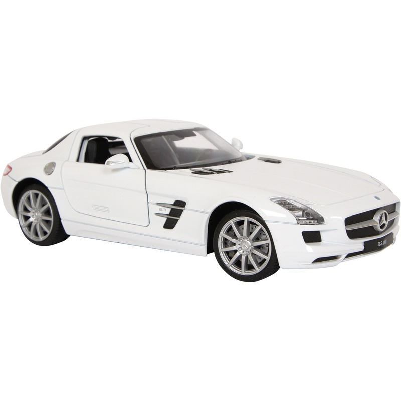 Witte Mercedes Benz SLS