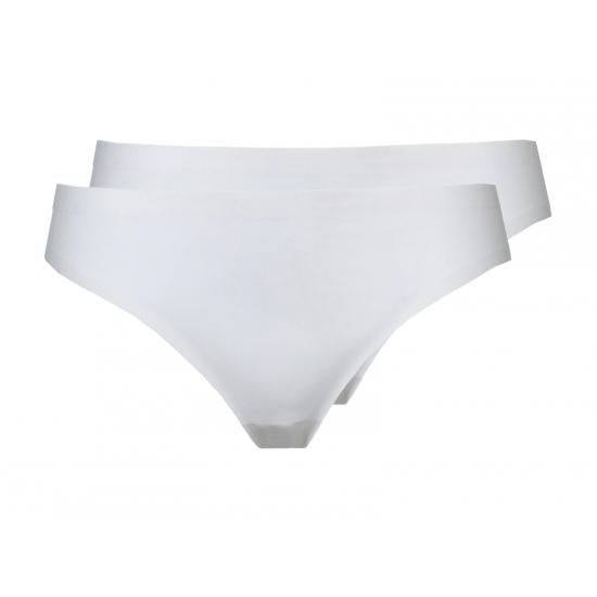 Witte naadloze dames strings Ten Cate 2 pak
