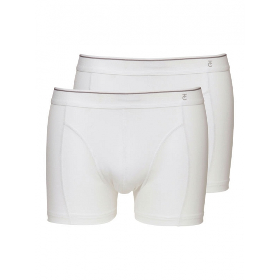 Witte ondergoed shorts set 2 stuks
