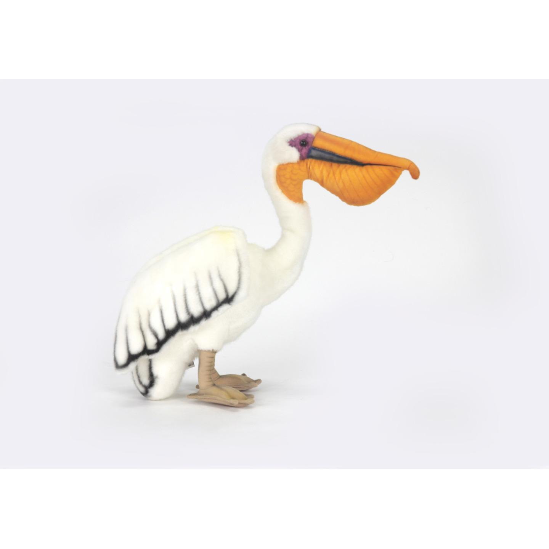 Witte pelikaan knuffel 27 cm