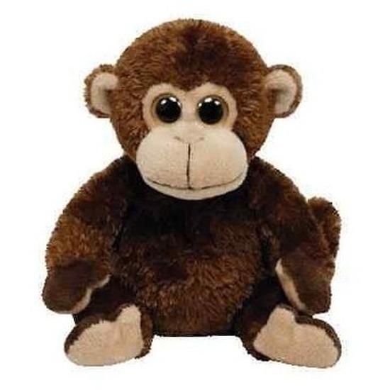 Zachte knuffel aap 15 cm