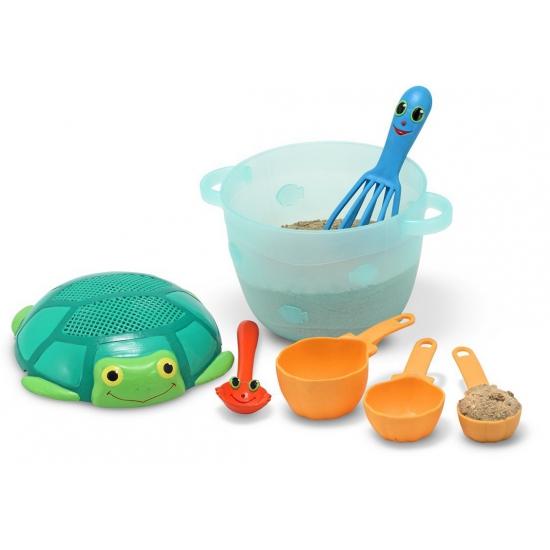 Zand gebakjes speelgoed set
