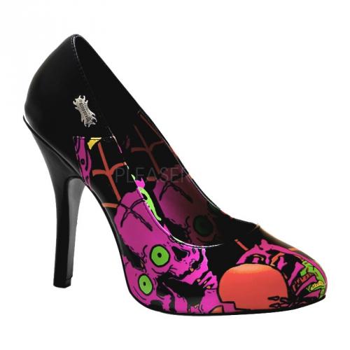 Zombie thema pumps voor dames