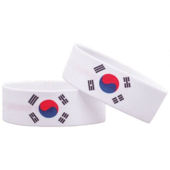 Zuid Korea fan armbandje