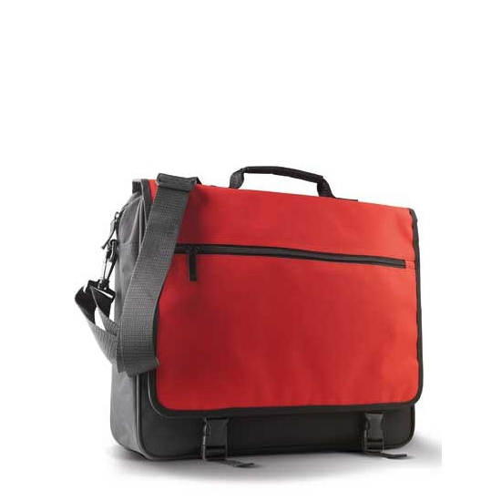 Zwart met rode schoudertas van KiMood