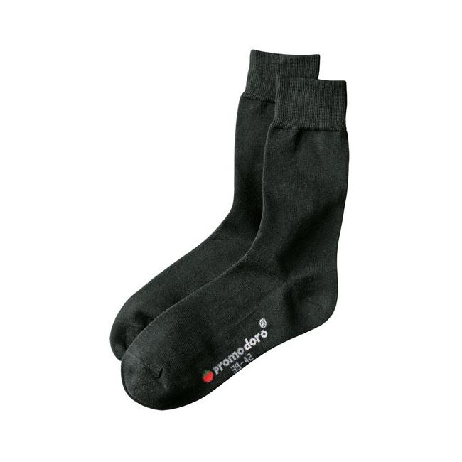 Zwarte sokken met een lichte glans