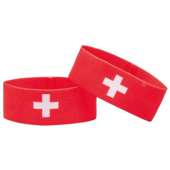Zwitserland fan armbandje