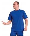 Blauw grote maten t shirt 4xl