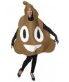 Drol emoticon kostuum voor volwassenen