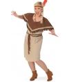 Grote maat indiaanse jurk voor dames