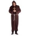 Grote maat monnik kostuum voor volwassenen